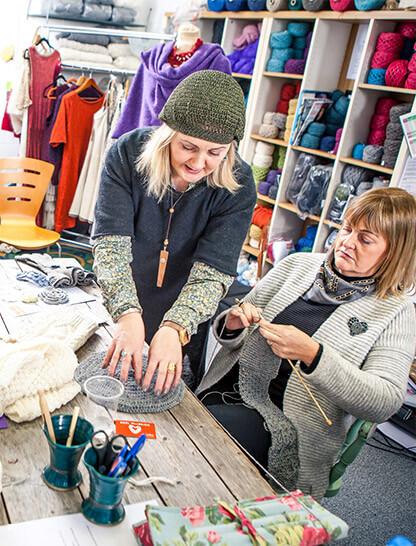 Knitting Holidays Scotland : Tours knitting