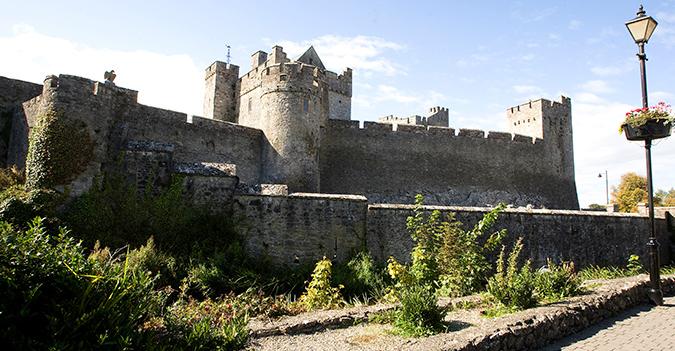 Cahir Castle- Kerry & Kilkenny Irish Knitting and Craft Tour