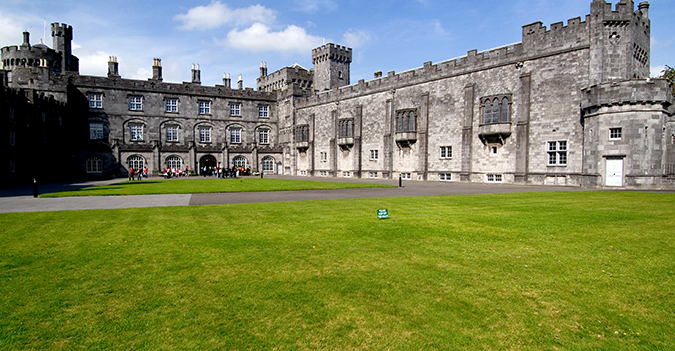 Kilkenny Castle - Kerry & Kilkenny Irish Knitting and Craft Tour
