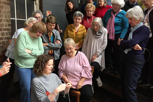 This is Knit Lisa Sisk Knitting Instructor- Knitting Tours of Ireland and Northern Ireland