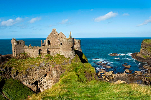 Causeway Coast Dunluce Castle - Knitting Tours of Ireland and Northern Ireland