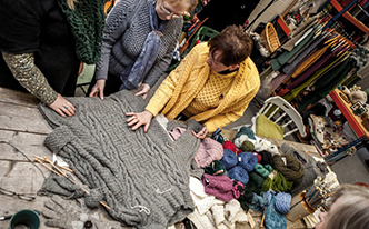 Edel MacBride Donegal Knitting Tours of Ireland and Northern Ireland