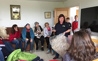 Mourne Alpaca Belfast Knitting Tours of Ireland and Northern Ireland