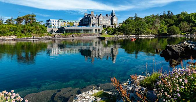 Luxury Accommodation Parknasilla Hotel Southwest of Ireland Luxury Knitting Retreat