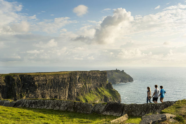 Cliffs of Moher - Kerry & Kilkenny Irish Knitting and Craft Tour